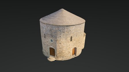 Sant Esteve de Sallent 3D Model