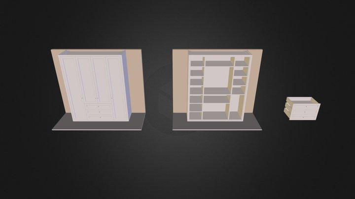 Szafa 3D Model