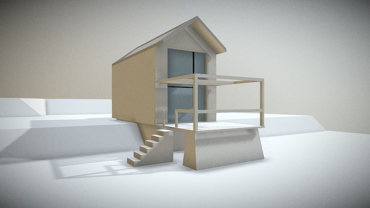 baustube minihouse 2.0 3D Model