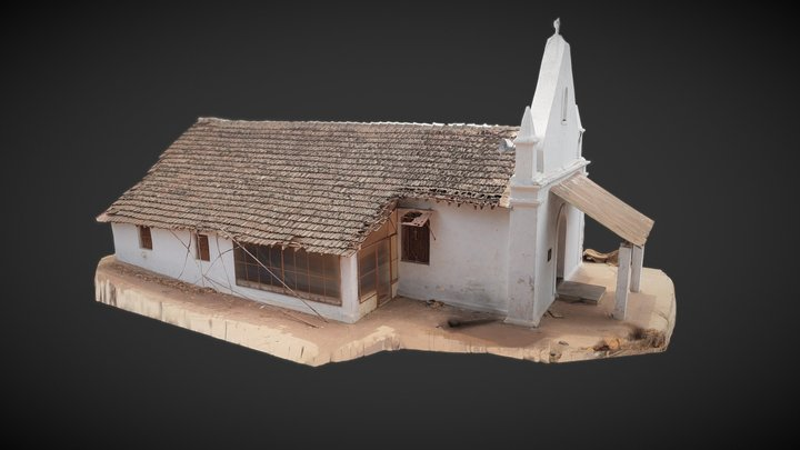 Lumber Chapel 3D Model