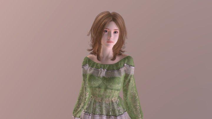 Princess One 3D Model