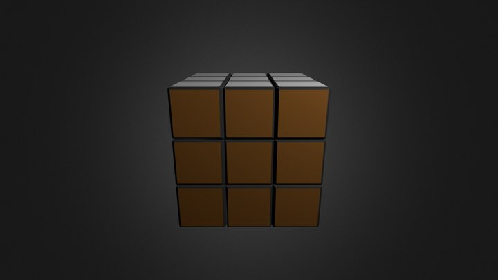 RUBIKS Cube [Free To Use] 3D Model