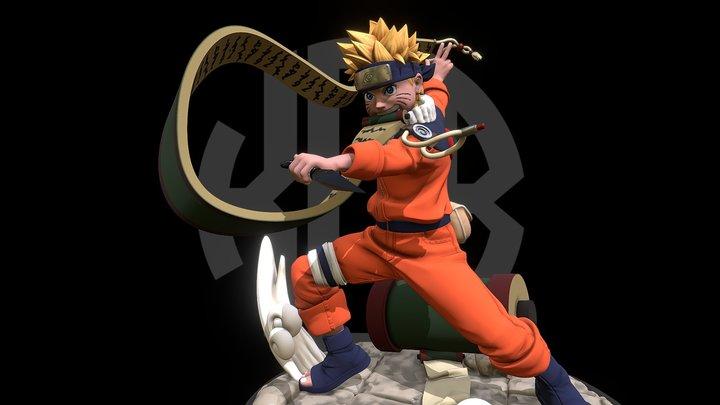 Naruto Figure 3D Model
