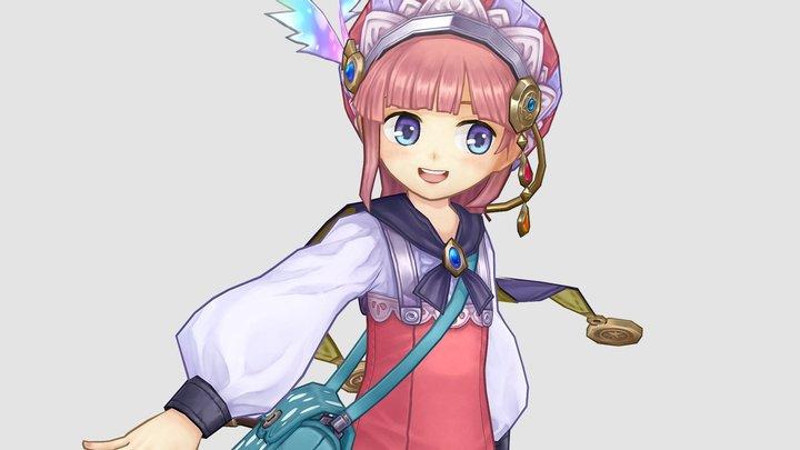 Atelier Meruru - Rorona 3D Model
