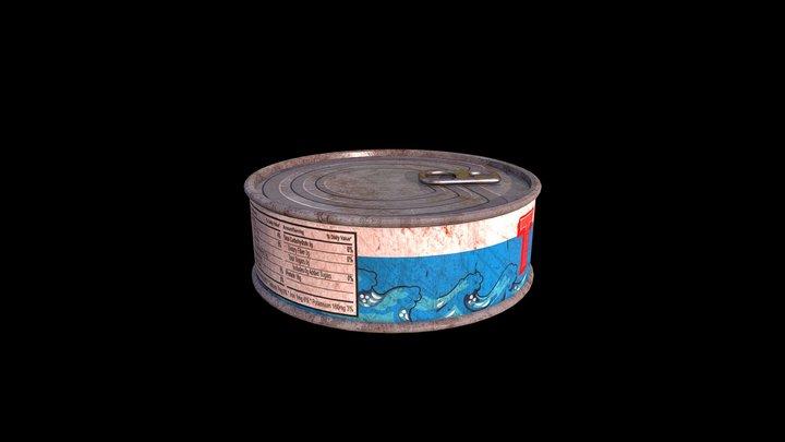 Tuna Can 3D Model