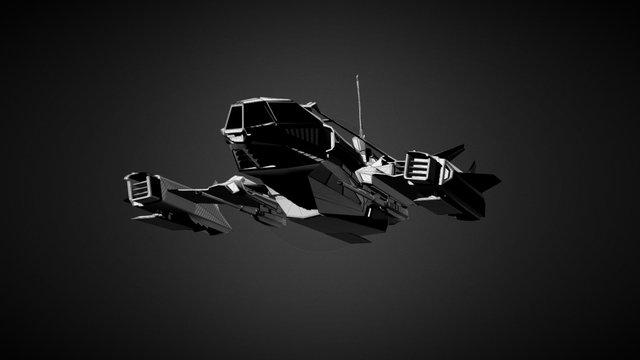 Baracuda concept 3D Model