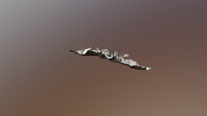 Ущелье Зардалы R7-R10. Zardaly gorge R7-R10 3D Model