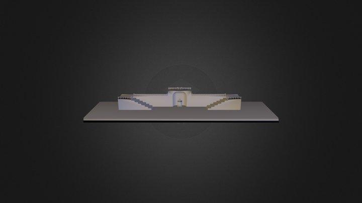 Escalera Monumental 3D Model