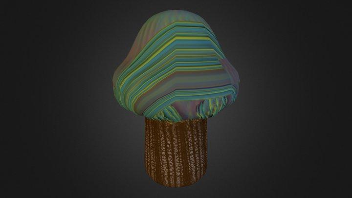 Hongo Zbrush 3 3D Model