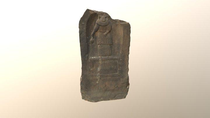 Vacia's Tombstone, Carlisle 3D Model