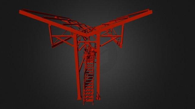 Descargadero Rediseño 3d V1a 3D Model
