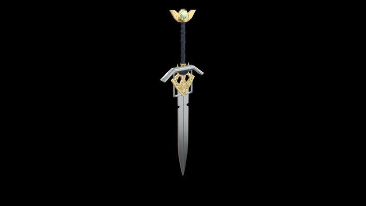 Sith Sword 3D Model