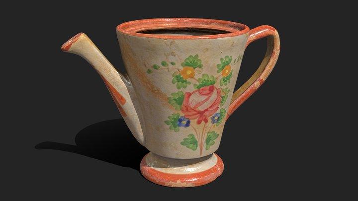 19th Century Vase 3D Model