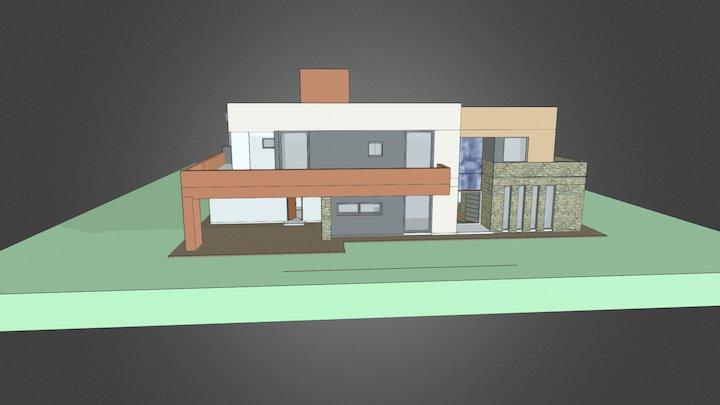 Lagos del Sur 3D Model