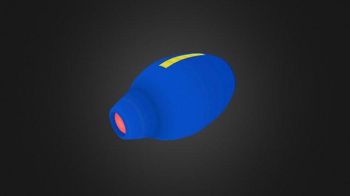 Mega Buster 3D Model
