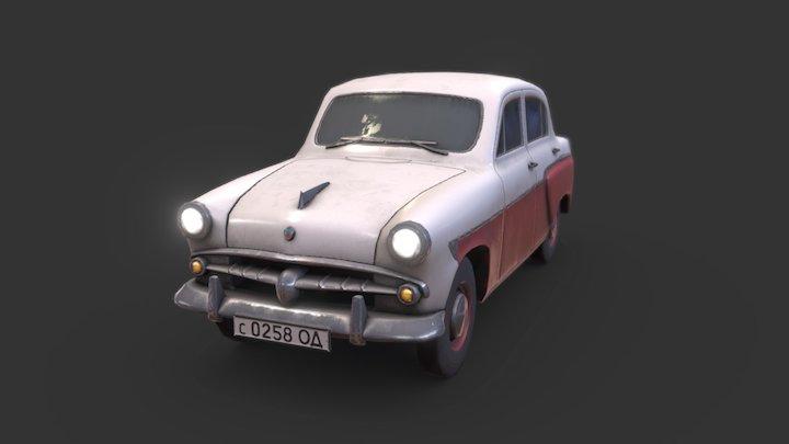 Moskvitch 402 3D Model