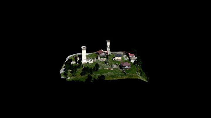 Zhamushi Church of the Saviour 3D Model
