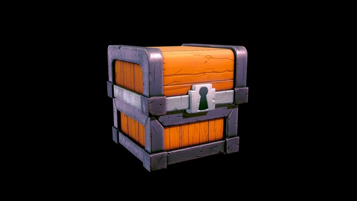Tresure Chest - Game Ready 3D Model