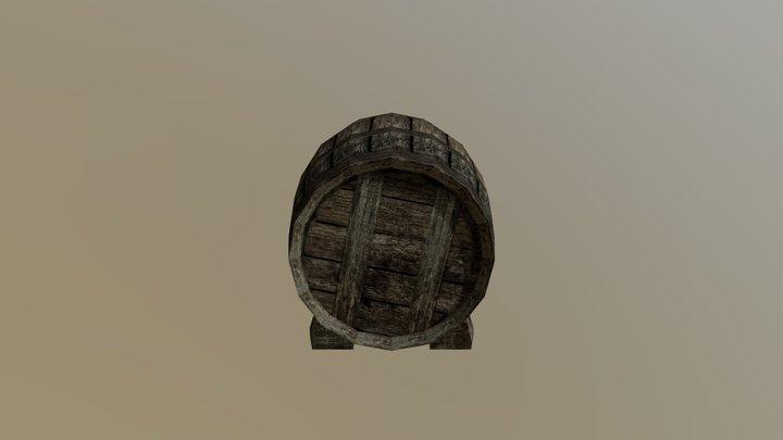 Beczka 3D Model