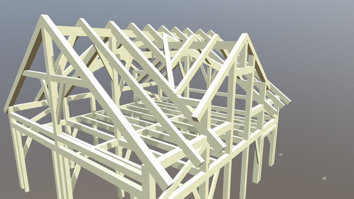 Barn- Workshop 3D Model