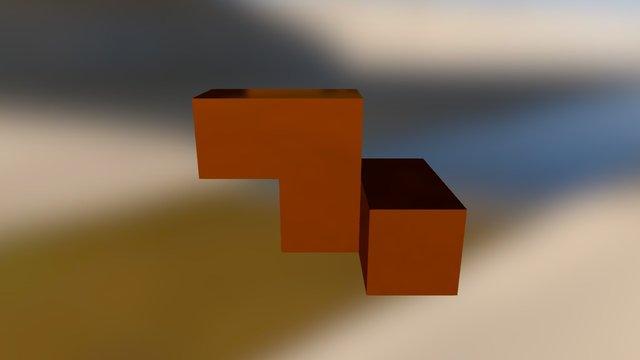 Orange Embed 3D Model