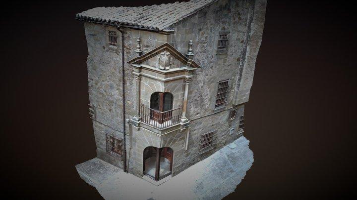 Palacio Chaves Calderón / Balcón de esquina 3D Model