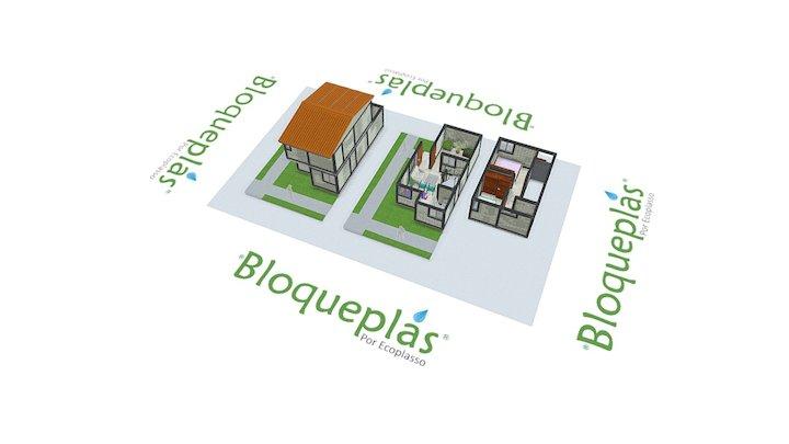 Vivienda social Bloqueplas A - Social Housing A 3D Model