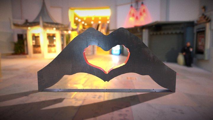 HeartHandsTest 3D Model