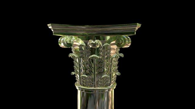 #NEWPALMYRA: Palmyrene Column 3D Model