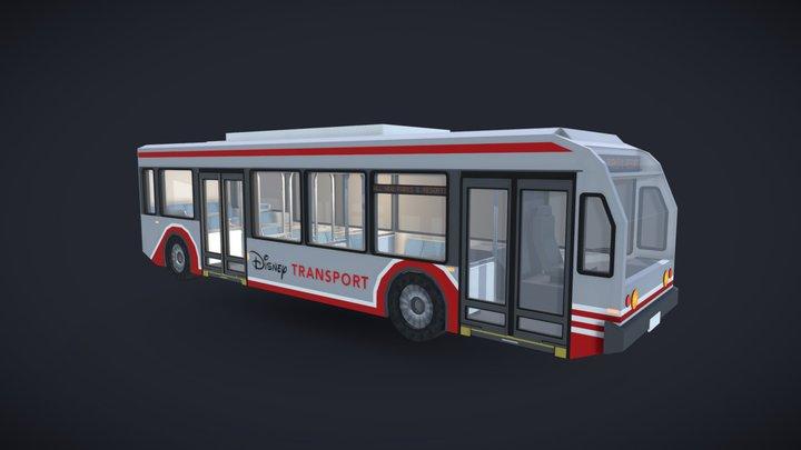 Disney Transport Modified NovaBus LFS