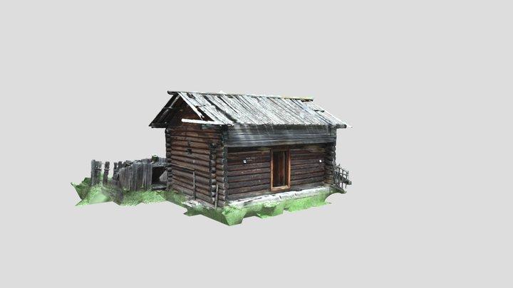 Angoy, barn 3D Model