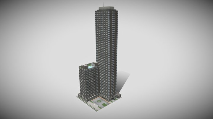 New York style condominium 3D Model