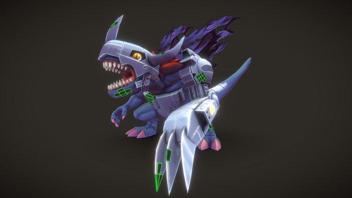 MetalGreymon 3D Model