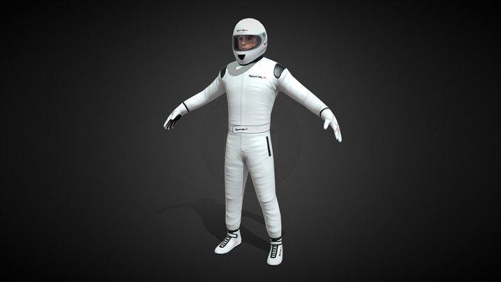 """""""Stig"""", Car Driver 3D Model"""