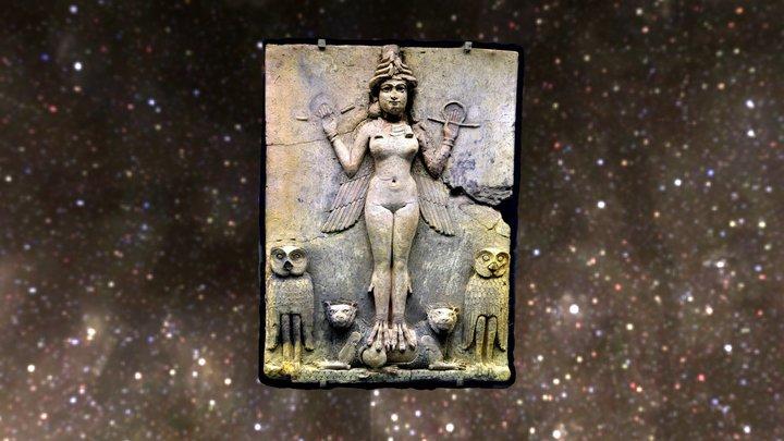 Queen of the Night Ishtar 3D Model