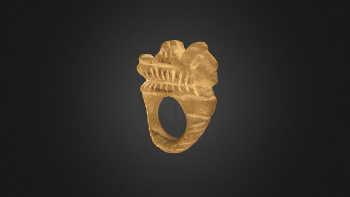 Etruscan Ring 3D Model