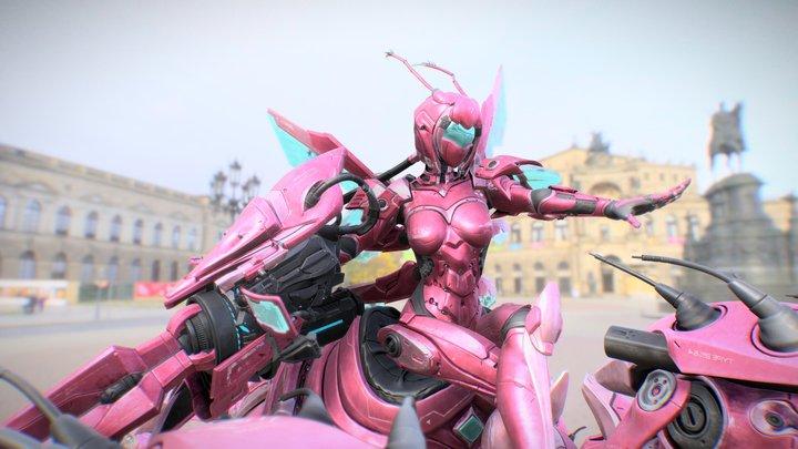 Idol of Rose Talis - Full Gear 3D Model
