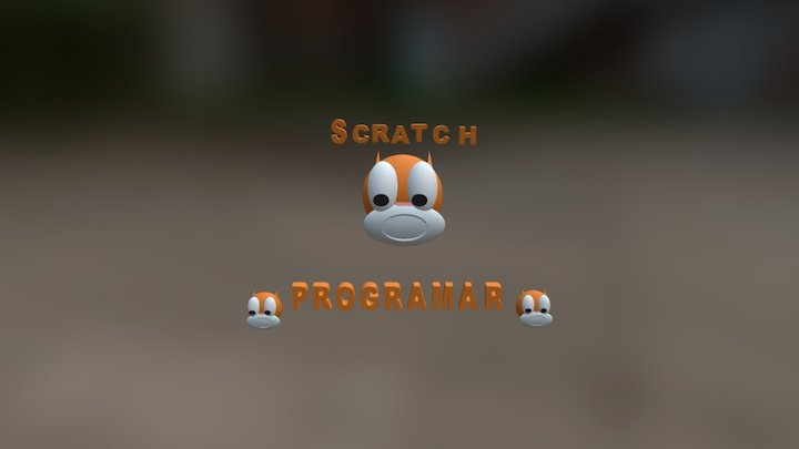 Scratch 3D Model