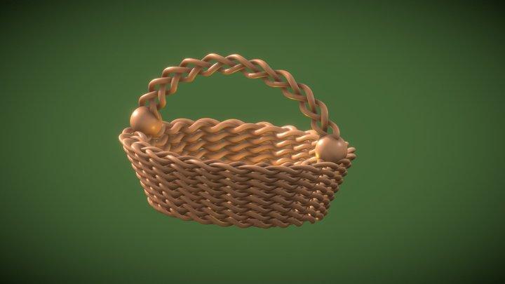 Easter or Ostara Basket 3D Model