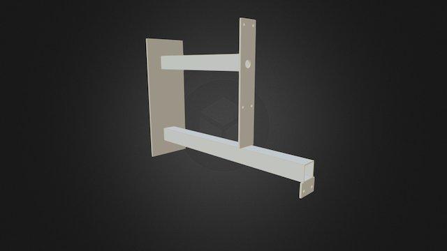 Soporte Acero G110 3D Model