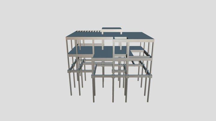 Projeto Edificação Residencial 3D Model