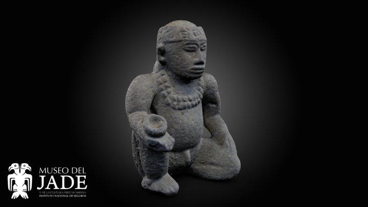 Escultura de líder chamánico 3D Model