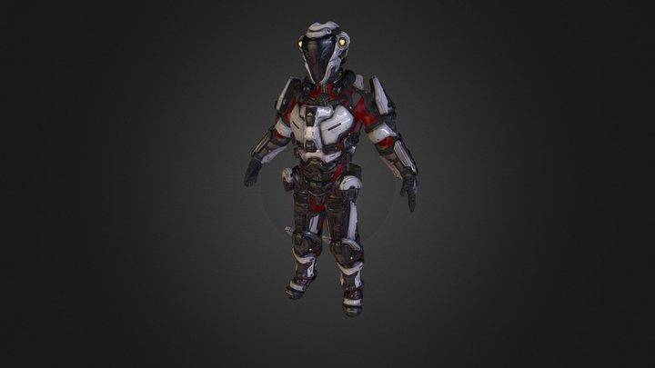 XavierNSS_X118 3D Model