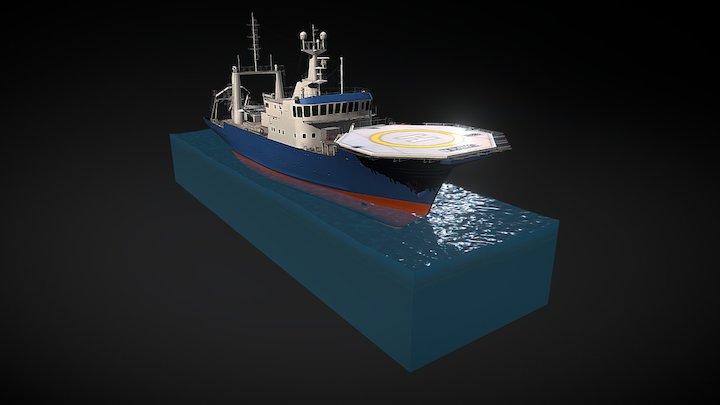 Sarsen model 3D Model