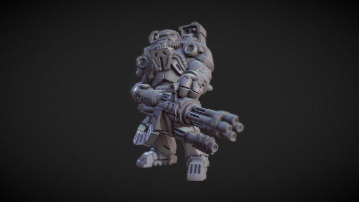 Erric 3D Model