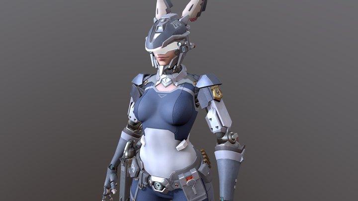 Judy Hopps 3D Model
