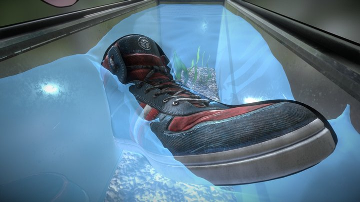 Smelly sneakers 3D Model