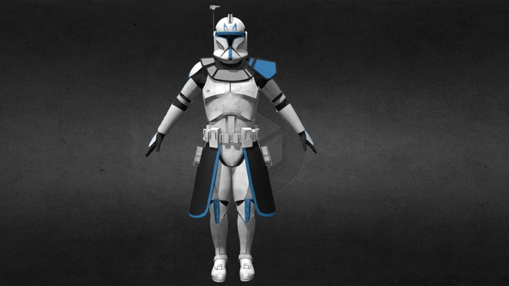 Captain Rex (Phase1) [Updated] 3D Model