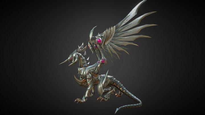 Drake Iron 01 3D Model