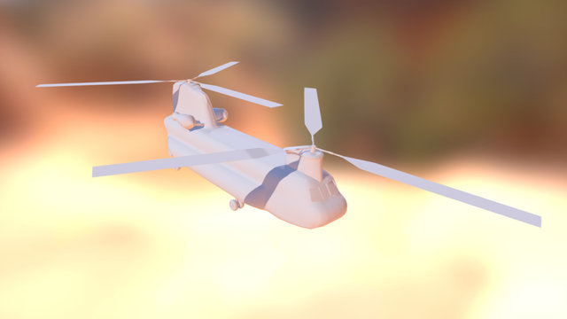Boeing Chinook 3D Model